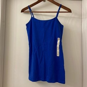 NWT Authentic American Heritage Blue Camisole Top